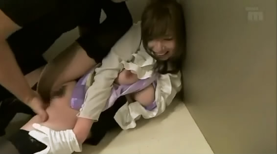 Japanese girl raped in elevator