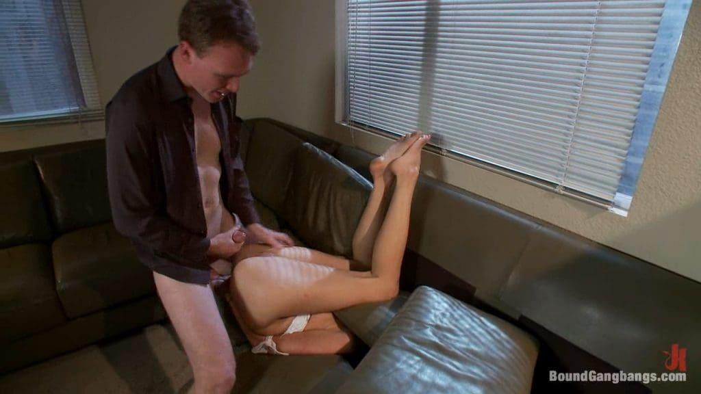 Violent forced sex porn with Kara Price