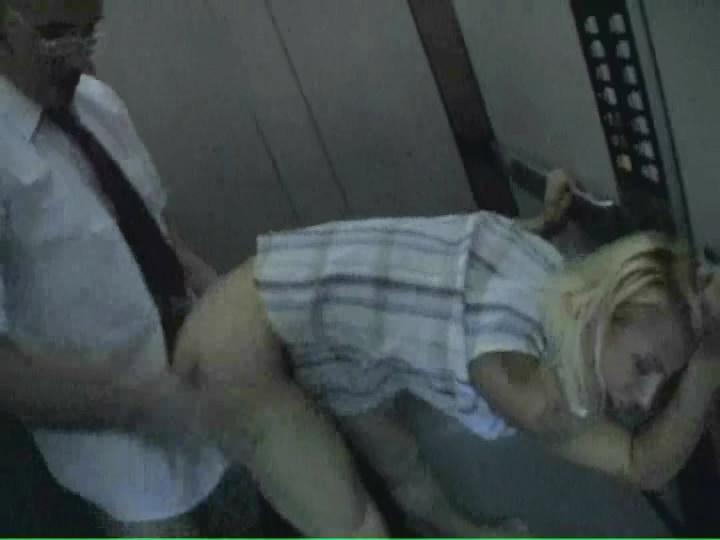 violent rape video in an elevator