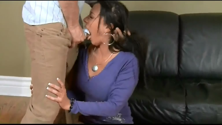 violent face fucking on busty woman
