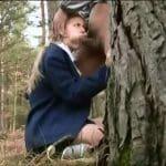 Abigaile Johnson blowjob rape porn video
