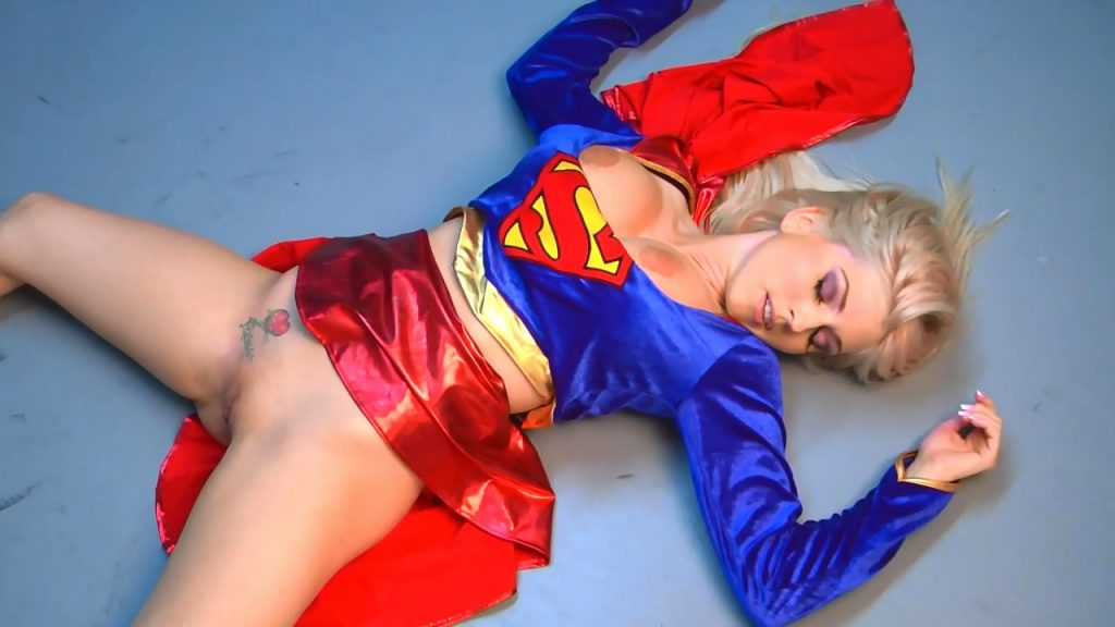 cosplay super girl forced sex viol movie